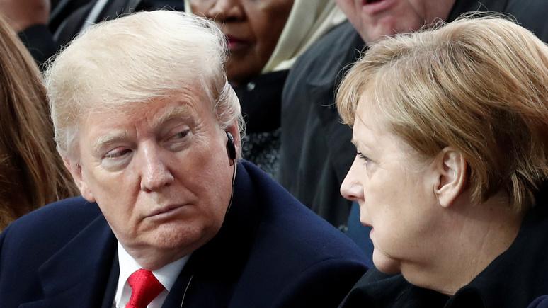 Focus: вывод войск из Германии — это расплата Берлина за подрыв внешней политики США