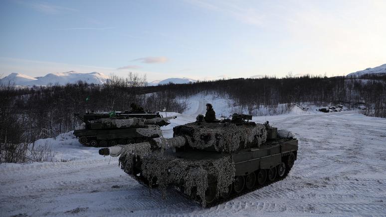 junge Welt: милитаризация Арктики происходит при активном содействии Германии
