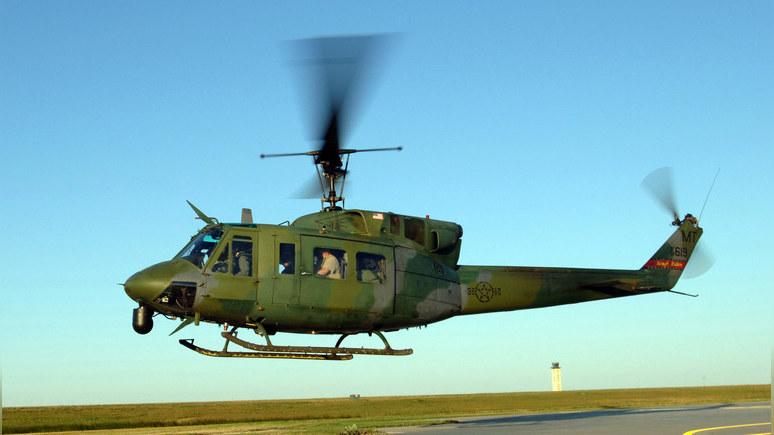 CNN: в США обстреляли военный вертолёт