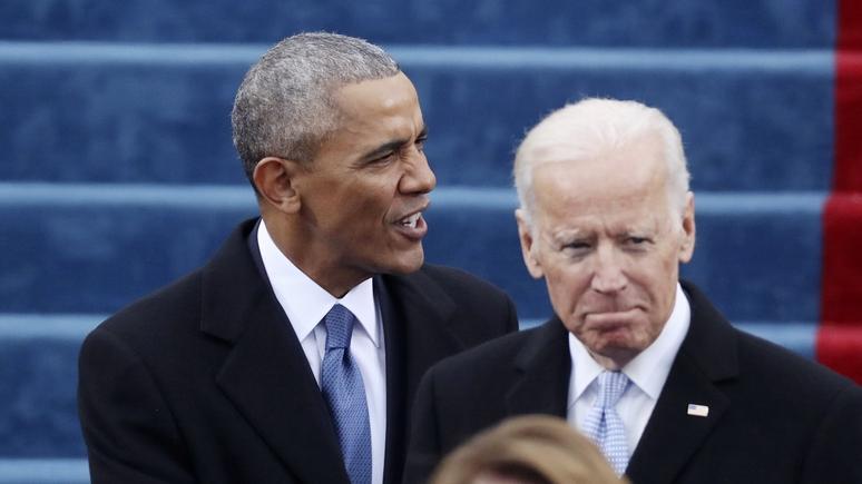 «Не стоит недооценивать способность Джо облажаться» — Politico рассказала о непростых отношениях Байдена и Обамы