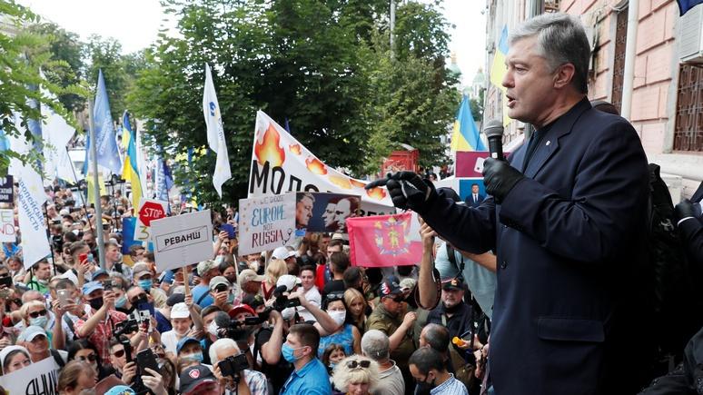 NewsOne: украинский депутат заявил о намерении Порошенко устроить госпереворот на День независимости
