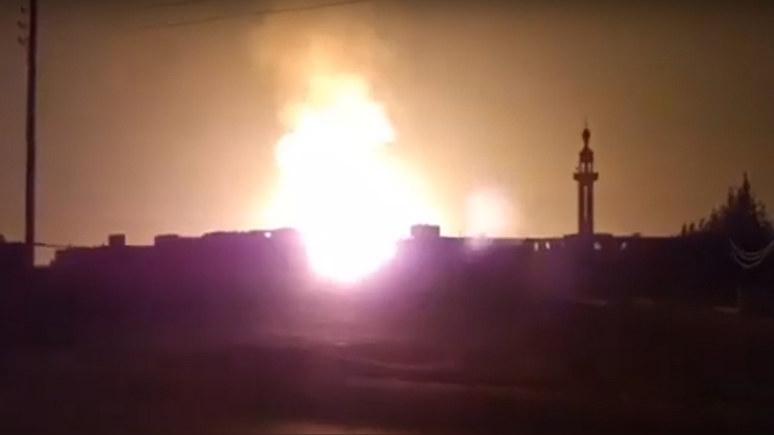 Reuters: взрыв на газопроводе, обесточивший Сирию, назвали терактом