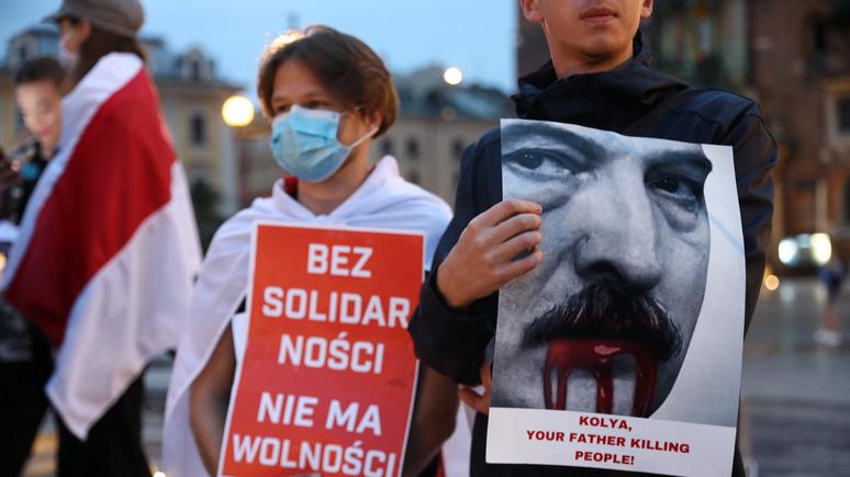 TVP Info: в Польше начали говорить о разделе Белоруссии и союзе с Москвой
