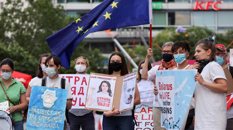 Neues Deutschland: немецкая «политика переворотов» несёт Восточной Европе один лишь вред