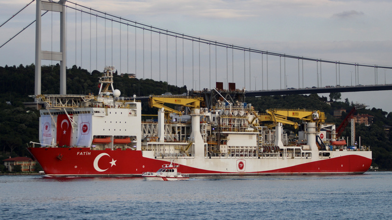 Hürriyet: открытие газового месторождения усилит позицию Турции на переговорах с Россией