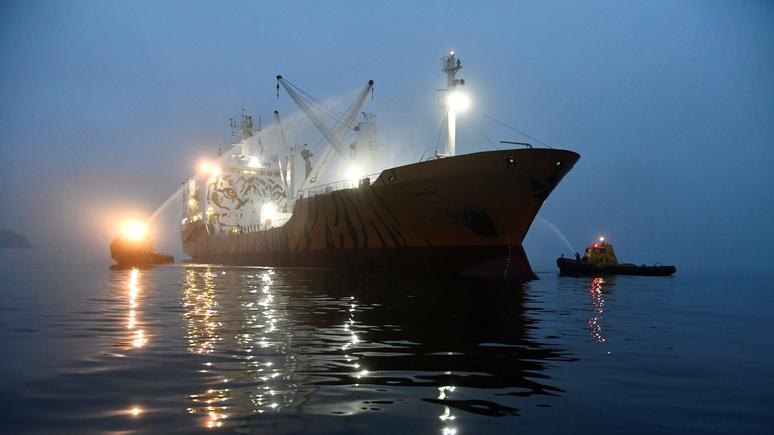 Эксперт Forbes рассказал, как блокада торговых судов поможет Западу выиграть войну с Россией