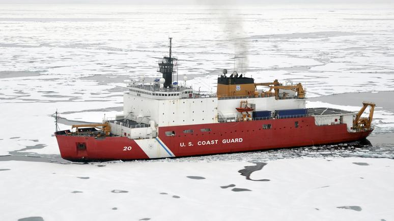 WT: шансов на Арктику всё меньше — на одном из двух оставшихся у США ледоколов произошёл пожар