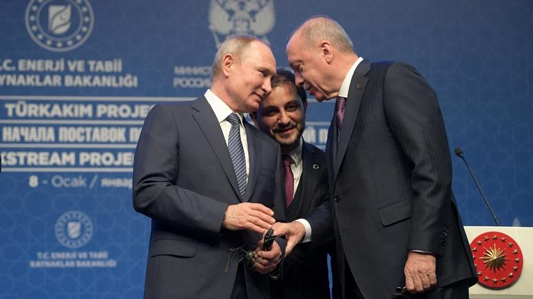Al Jazeera: новое месторождение газа не отвернёт Турцию от России