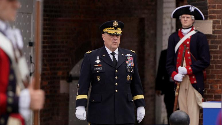 CNN: глава комитета начштабов США исключил вмешательство армии в выборы