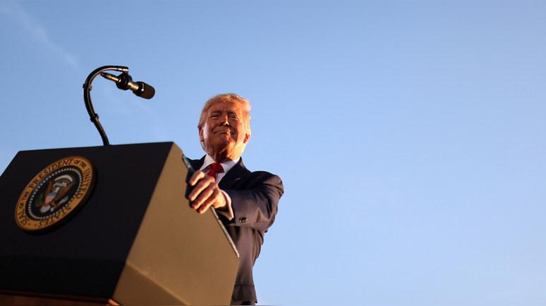 NPR: Трамп предрёк Америке уничтожение изнутри в случае победы «экстремиста» Байдена