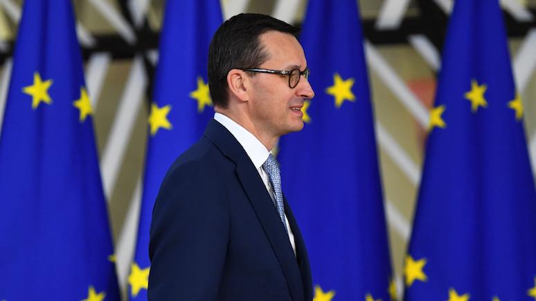 Моравецкий: «старая Европа» просто не может смириться с растущей силой «новой Европы»
