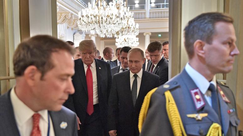 Восхищение, компромат или финансирование — обозреватель WP попытался найти причину «заискивания» Трампа перед Путиным