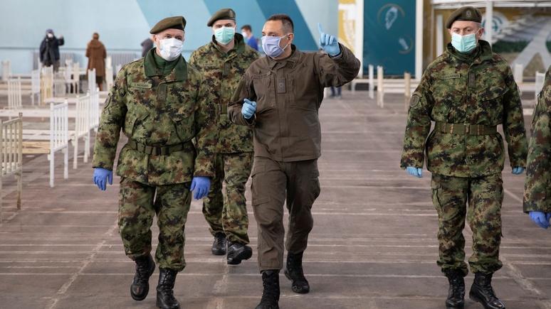 Figaro: Сербия отказалась участвовать в учениях с Москвой и Минском из-за давления ЕС