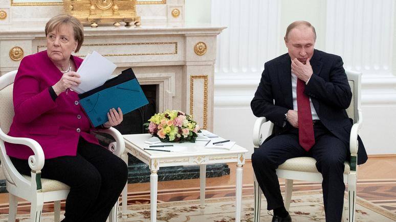 Die Zeit: «конец иллюзий» — российско-немецкие отношения скатываются к низшей точке