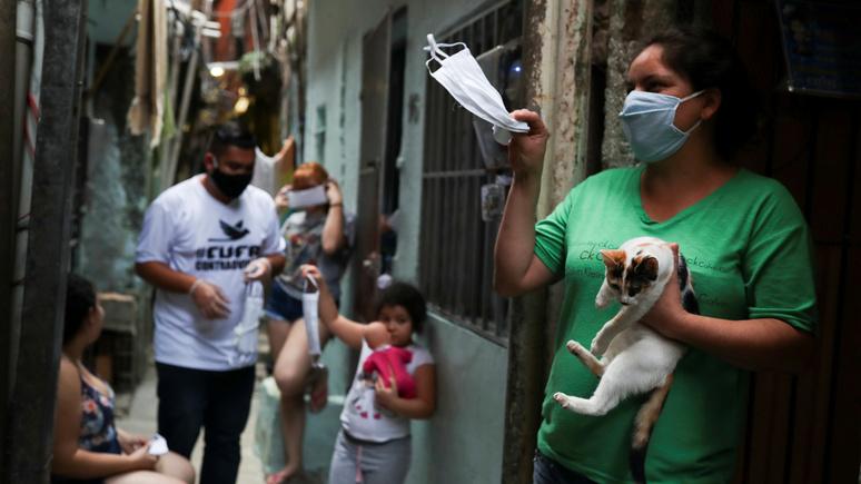 Washington Post: просчёты властей и бедные кварталы не дают Латинской Америке сдержать пандемию