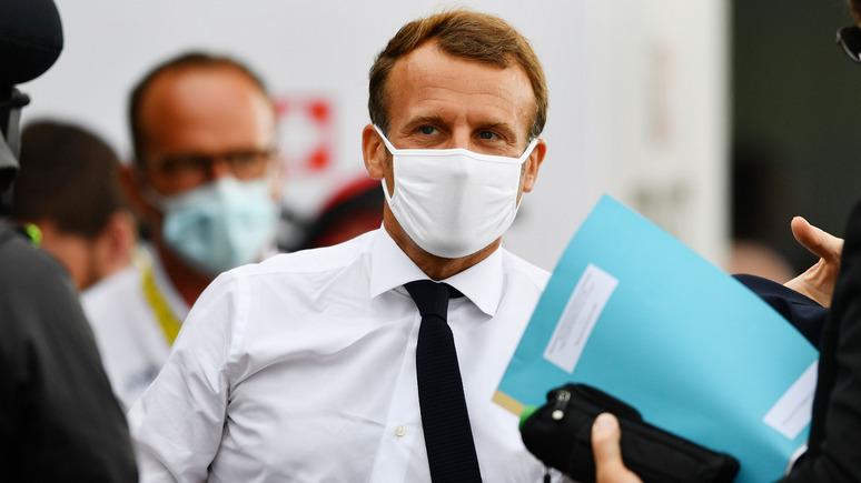 Le Figaro: дело Навального отравляет все попытки Макрона сблизиться с Россией