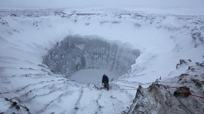 Forbes: учёные разобрались с причиной возникновения загадочных сибирских кратеров