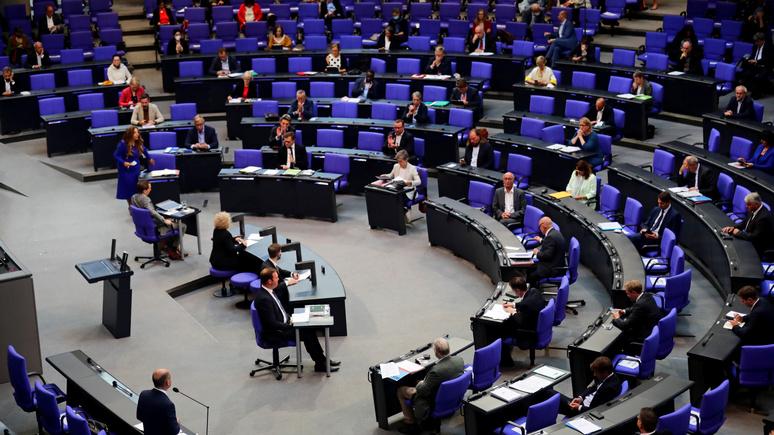 NDR: бундестаг не поддержал идею зелёных отказаться от «Северного потока — 2»