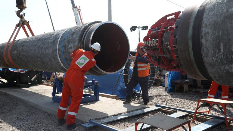 Handelsblatt: «Где нам брать газ?» — министр экономики Германии вступился  за «Северный поток — 2»