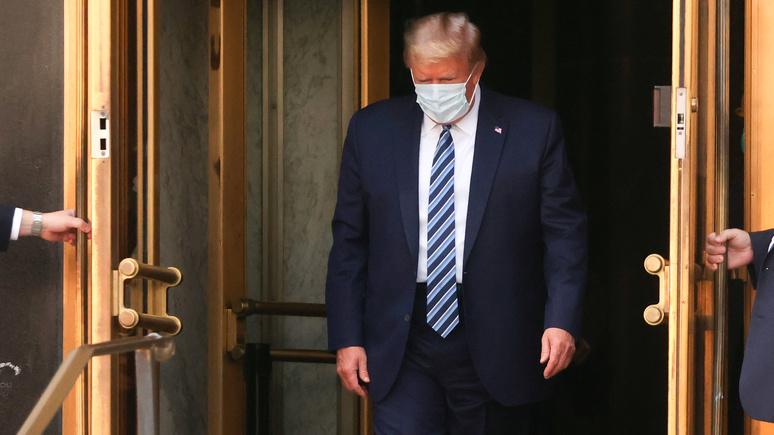 Эксперты BI: Трампа «перелечивают» или что-то не договаривают о его состоянии