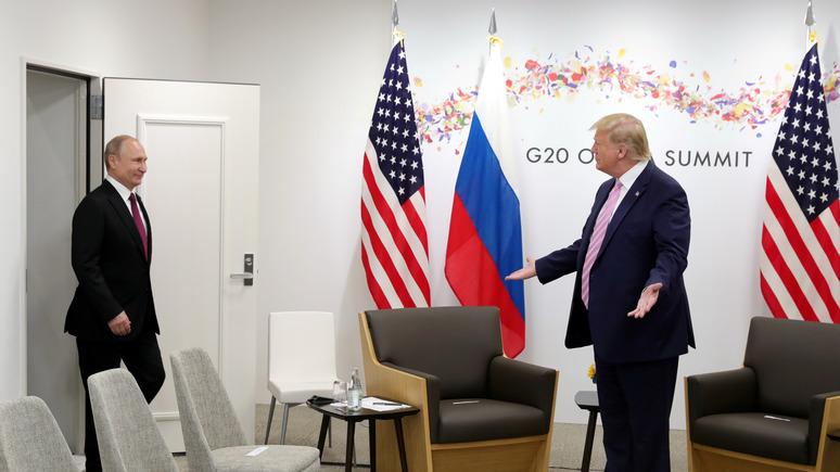 American Conservative: паранойя вокруг «сговора» Трампа и России опасна для внешней политики США