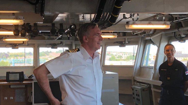 Daily Mail: глава британских ВМС предупреждает — напористый Китай способен воспользоваться глобальным потеплением