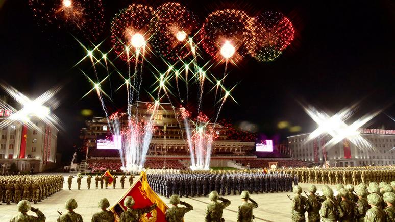 Le Parisien: Северная Корея на военном параде показала новую баллистическую ракету
