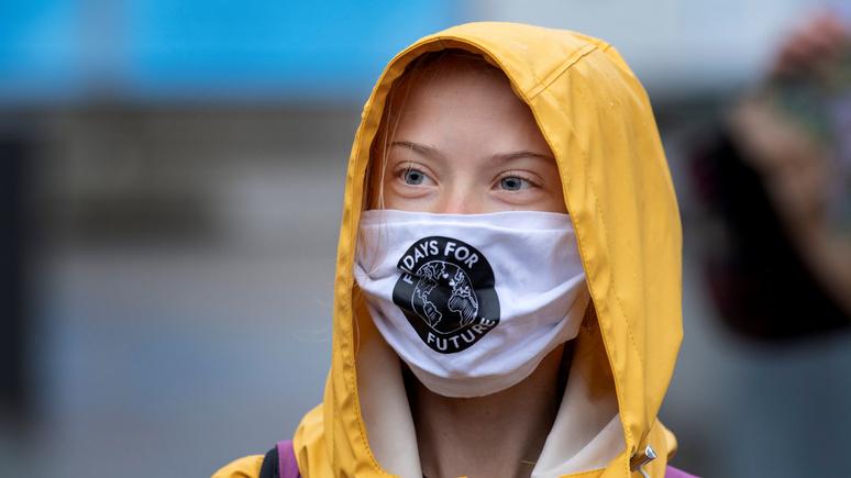 Paris Match: Грета Тунберг призывает американцев голосовать за Байдена