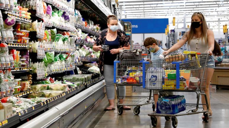 USA Today: рост случаев COVID-19 заставил американцев запасаться продуктами