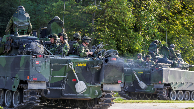SVT: на случай кризиса — Швеция прикроет коммуникации морпехов США на своей территории