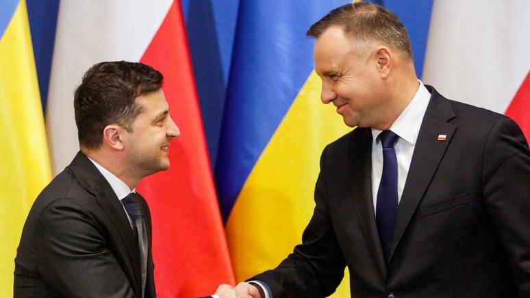 УП: Зеленский уверен, что недруги не смогут поссорить Украину и Польшу