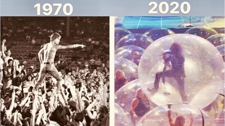 CNN: американская рок-группа использует «космические пузыри» для защиты от пандемии на концертах
