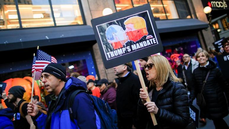 Обозреватель Politico: видеть во всём российский след так же по-американски, как яблочный пирог