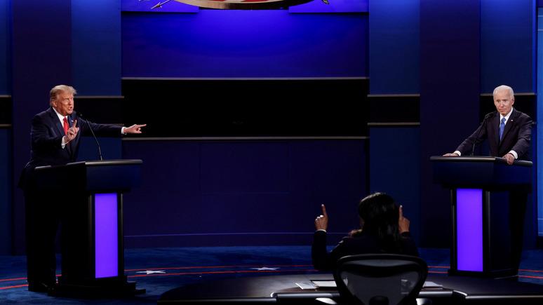 Bloomberg: любой исход выборов в США не принесёт выгоды России