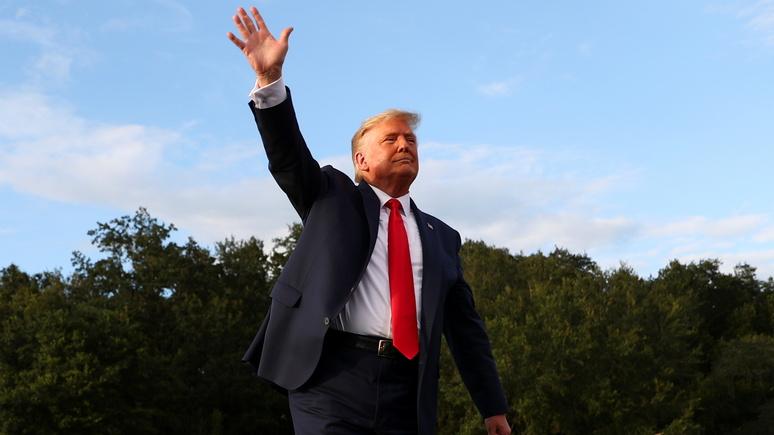 Die Welt: Трамп сделал много полезного, но ему пора уходить