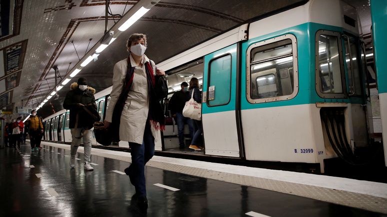 Le Parisien: «Дикий Запад» в транспорте и на улицах — после карантина в Париже резко выросла преступность