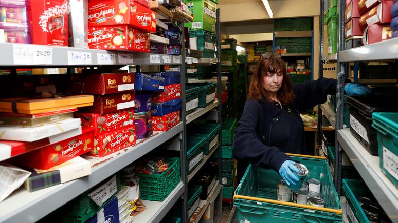 Guardian: из-за пандемии в Британии растёт число «новых голодающих»