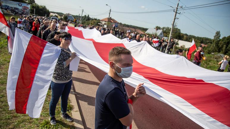 Polskie Radio: белорусы провалили всеобщий протест, но обрели национальное самосознание