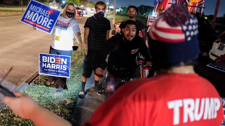 «Битва за легитимность результата началась» — мировые СМИ о выборах президента США