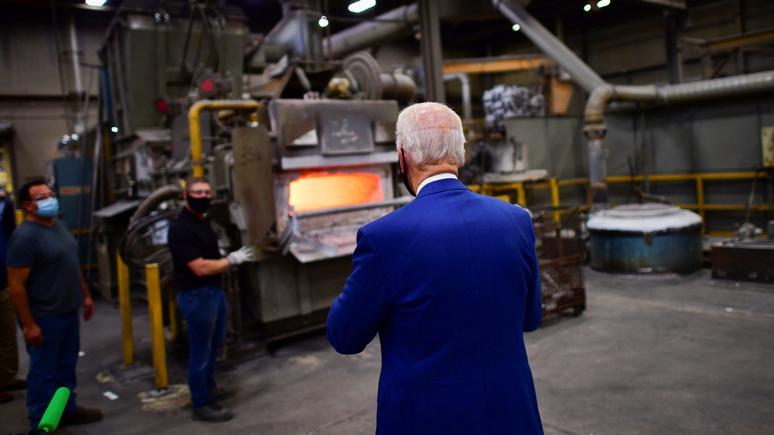 Politico: «промышленная политика — больше не ругательство» — подъём Китая заставил американские власти задуматься о производственном секторе