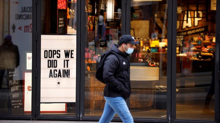 Daily Mail: повторный карантин подпортил экономический прогноз Великобритании