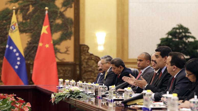 El Periódico: Мадуро попросил Китай помочь восстановить экономику Венесуэлы