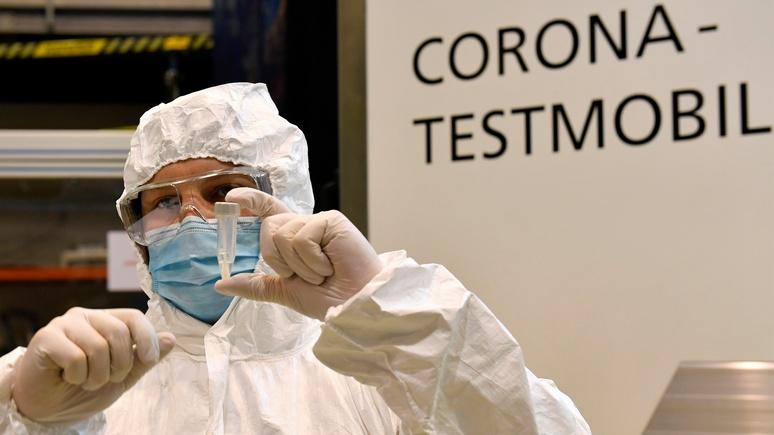 Spiegel: тестов на коронавирус в Германии начинает не хватать