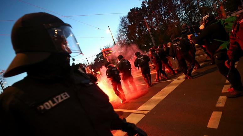 Das Erste: потеря контроля — беспомощность немецкой полиции развязывает руки неонацистам