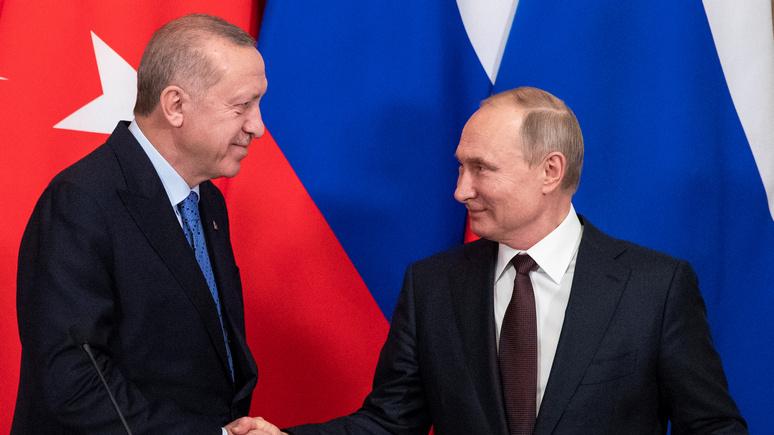 Die Welt: «даёшь и берёшь» — стратегическое партнёрство помогает России и Турции договариваться
