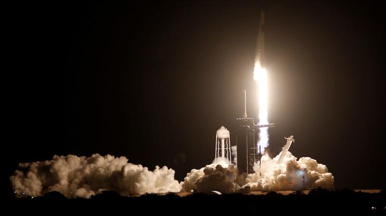 DT: новая эра — SpaceX отправила четверых астронавтов к МКС