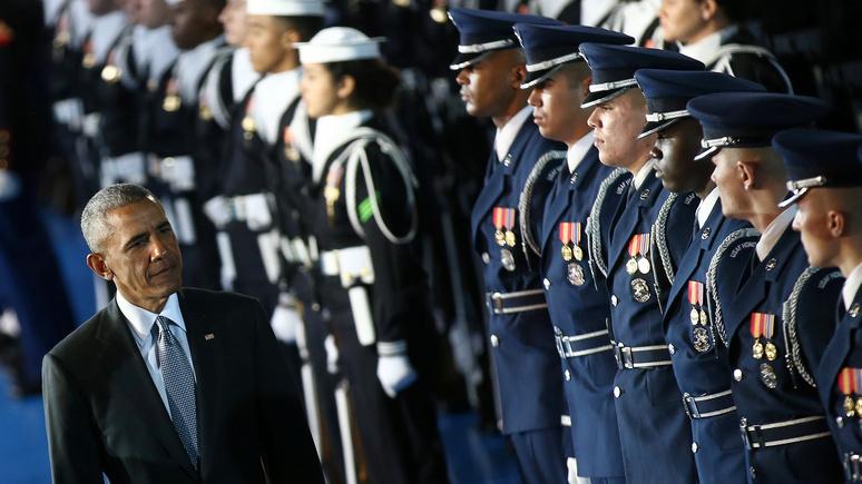 Fox News: наследие Обамы подрывает боеспособность американских войск