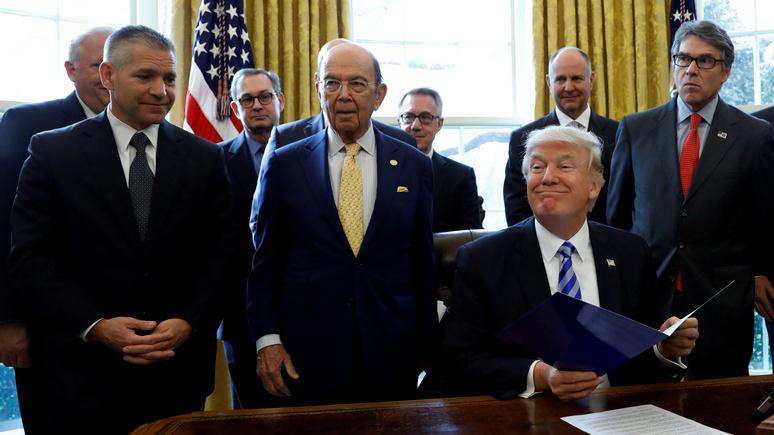 Daily Express: развалить США за 63 дня — Трамп, похоже, намерен попробовать