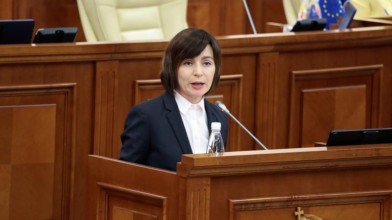 УП: Санду советует Украине учесть, что мягкий прямой диалог не помог Молдавии в Приднестровье