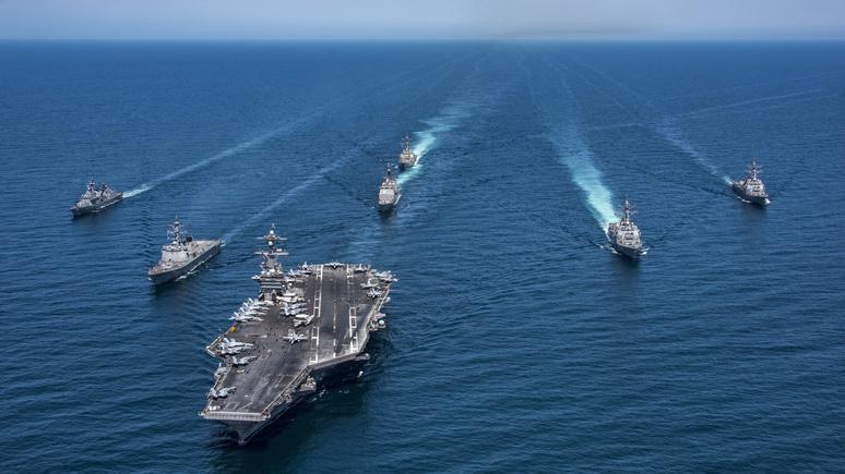 Эксперт Global Times: США выдают китайскую «агрессию» за повод к расширению своих ВМС
